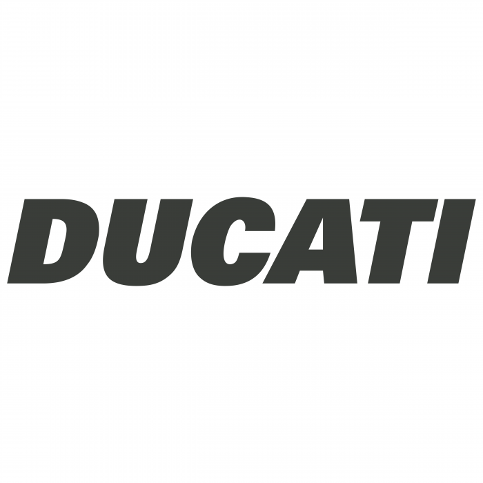 Ducati logo grey