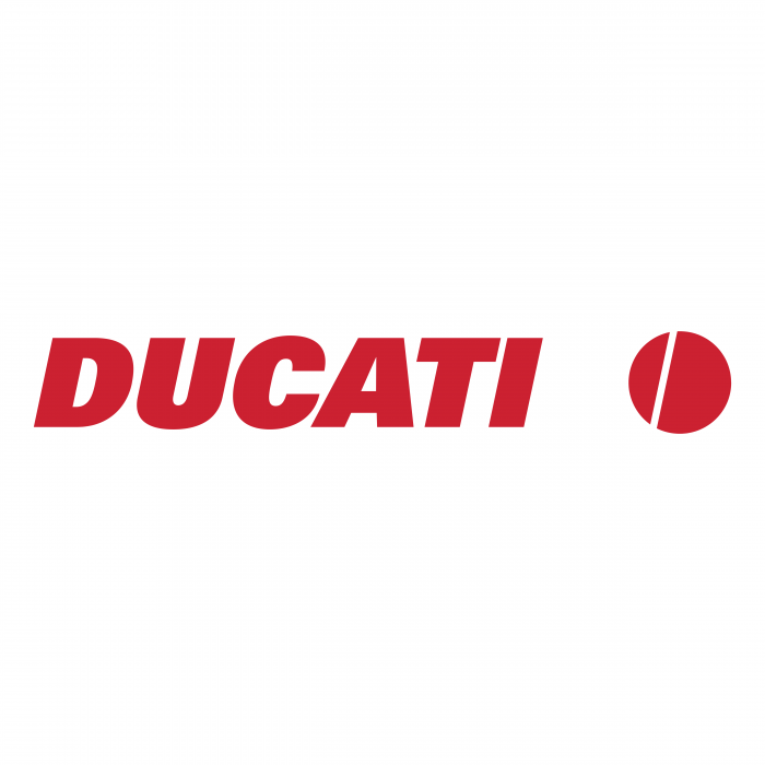 Ducati logo red