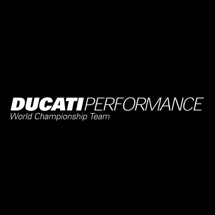 Ducati perfomance logo black