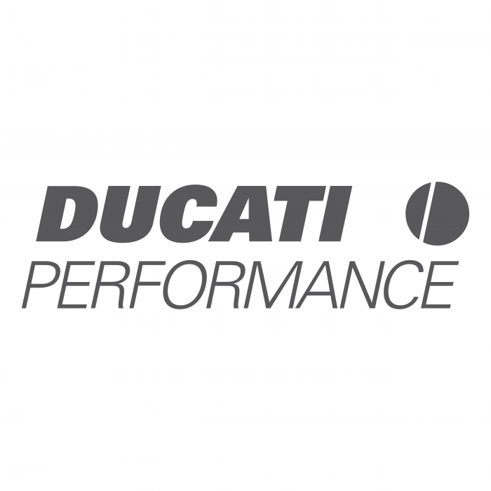 Ducati perfomance logo grey