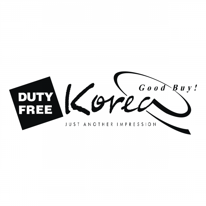 Duty Free logo korea