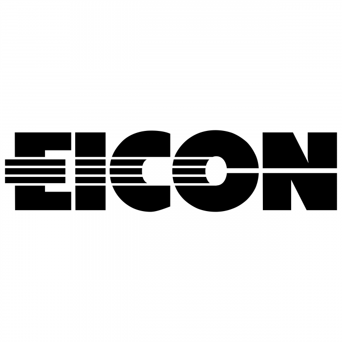 Eicon logo black