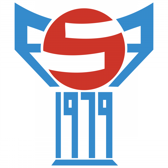 Faroe Football Association logo 1979
