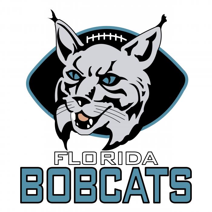 Florida Bobcats logo black