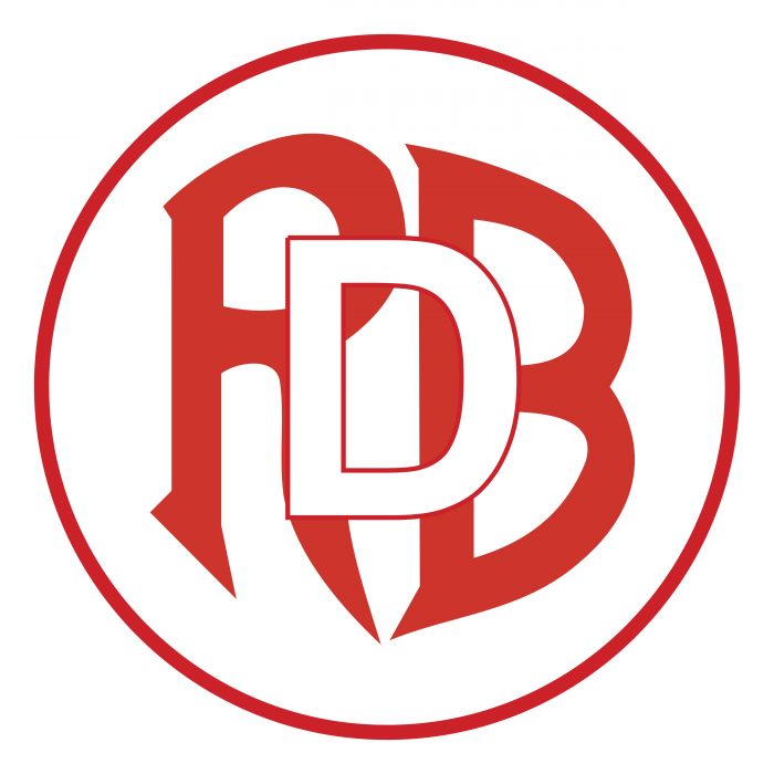 Football Association Red Boys Differdange logo red