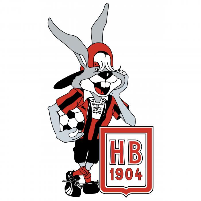 Football Mascot logo hb 1904