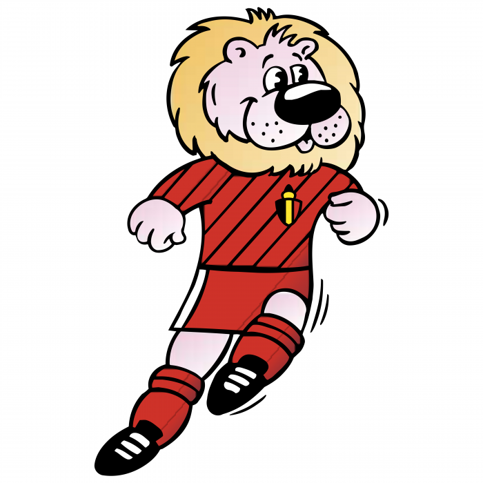 Football Mascot logo leo