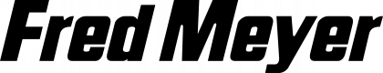 Fred Meyer logo black