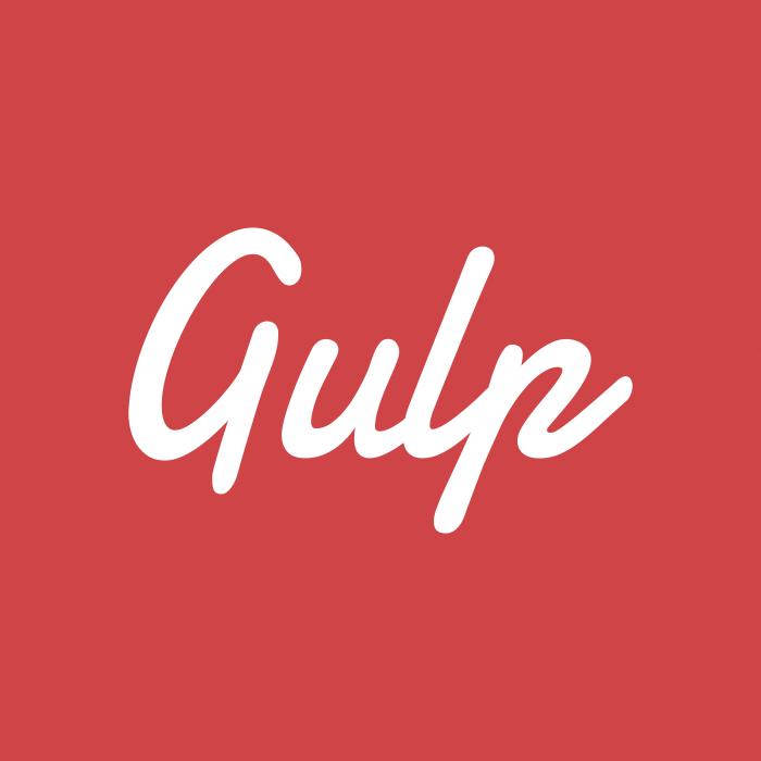 Gulp logo cube