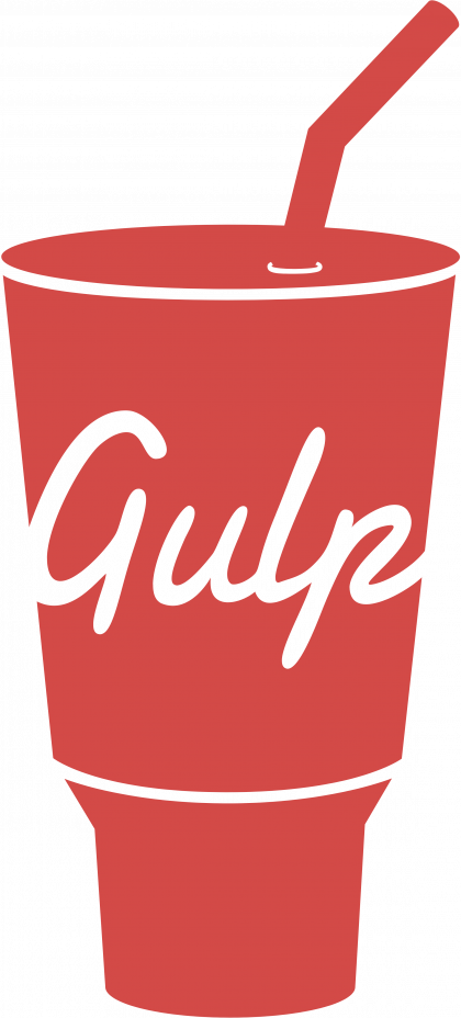 Gulp logo red