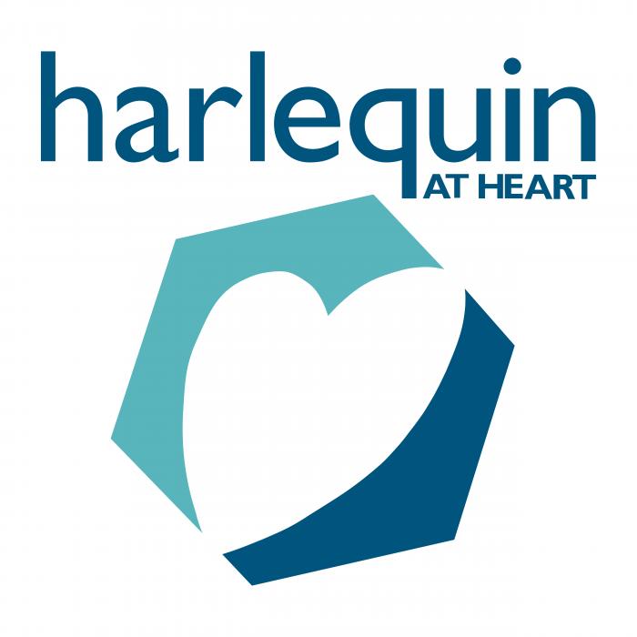 Harlequin logo heart