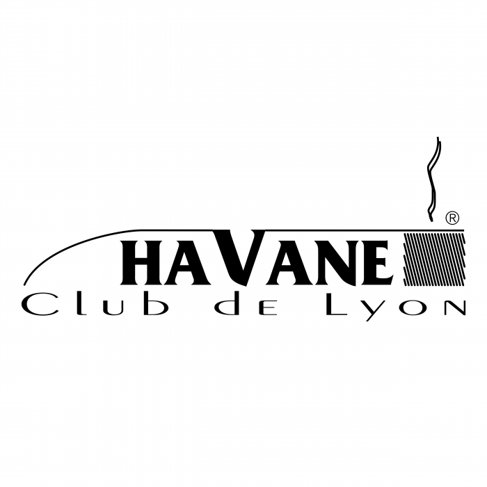 Havane Club de Lyon logo black