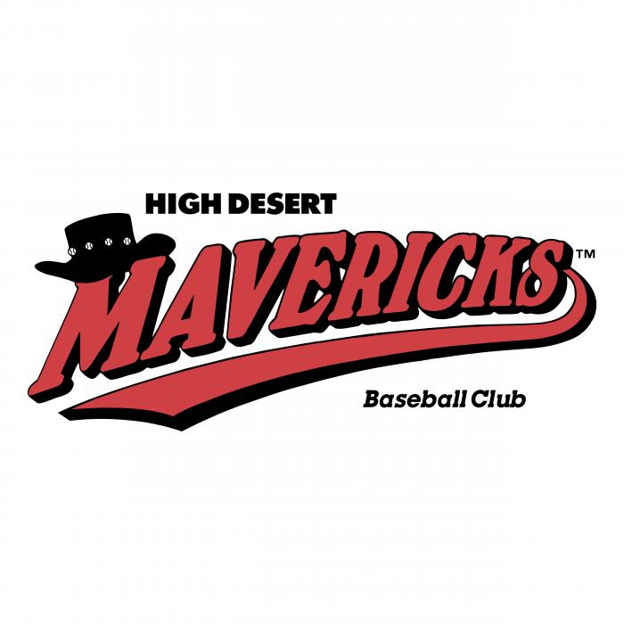 High Desert Mavericks logo baseball