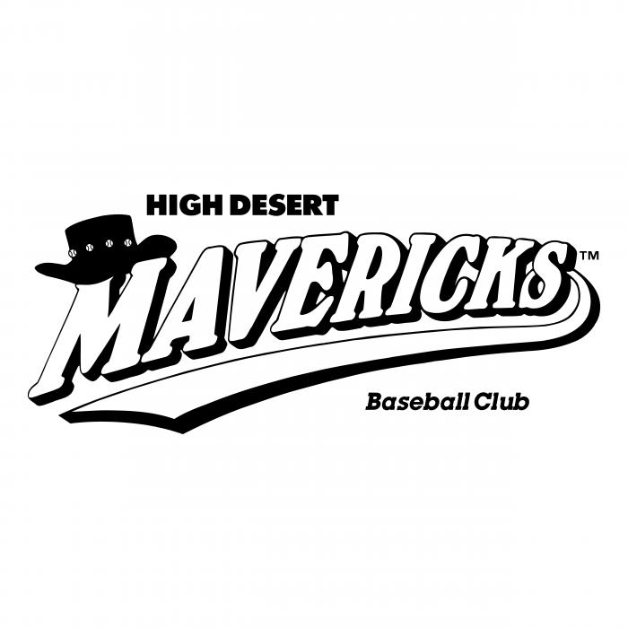 High Desert Mavericks logo white