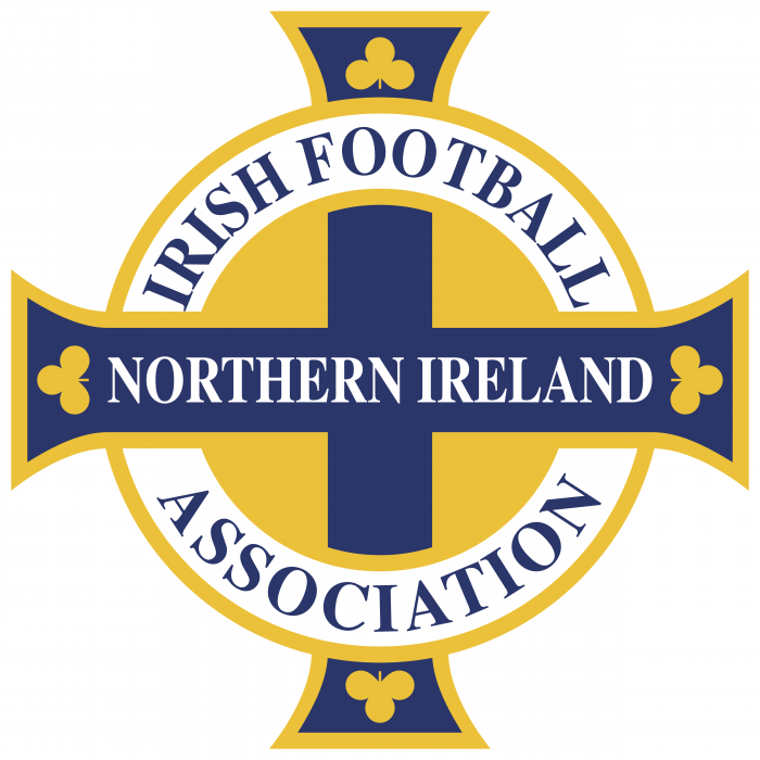 Irish Football Association logo yellow