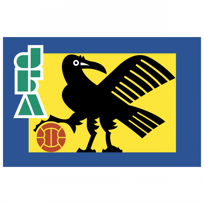 Japan Football Association logo blue