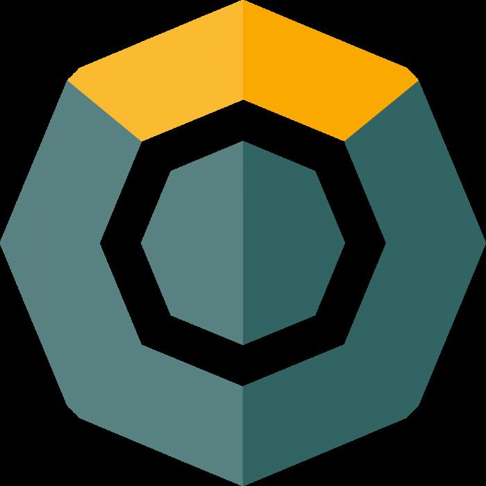 Komodo logo coin