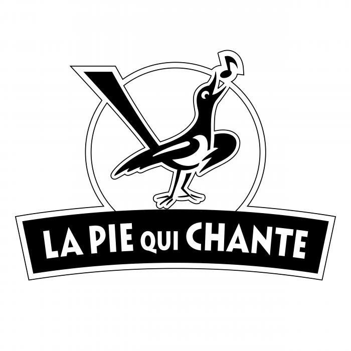 La Pie Qui Chante logo black