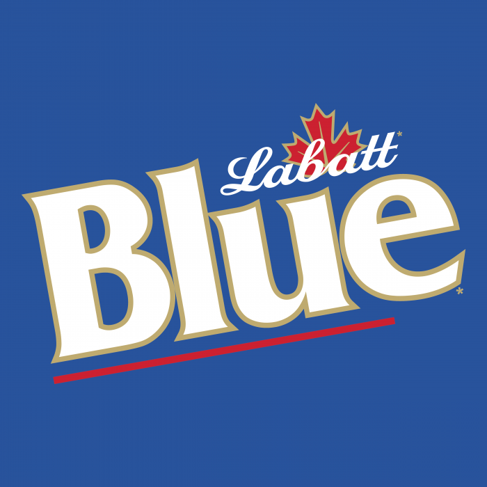 Labatt Blue logo cube