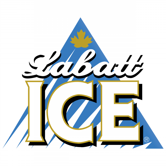Labatt Ice logo white