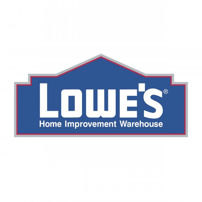 Lowe's logo blue