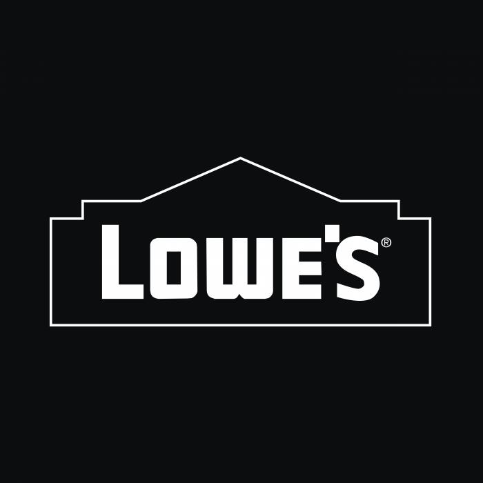 Lowe's logo cube