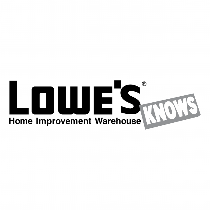 Lowe's logo knows