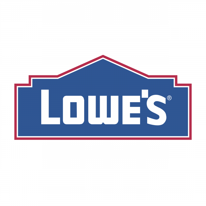 Lowe's logo red
