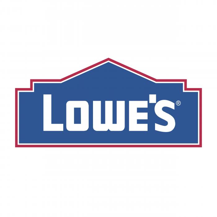 Lowe's logo red