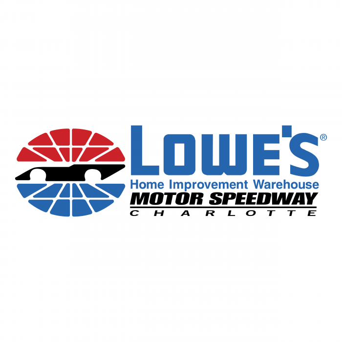 Lowe's logo speedway