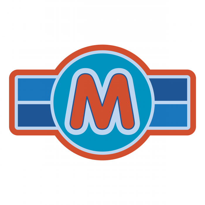 Mickey Mouse logo blue
