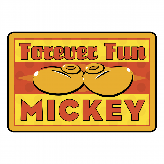 Mickey Mouse logo forever