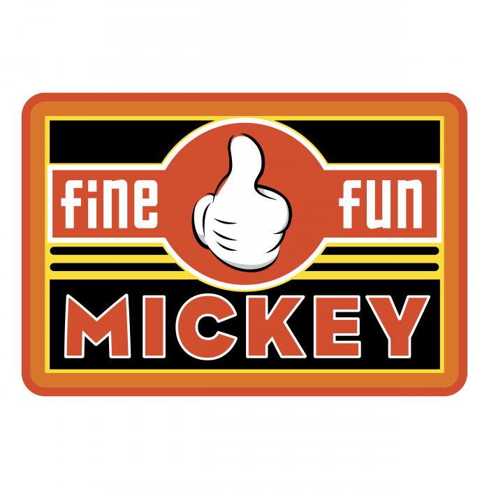 Mickey Mouse logo fun2