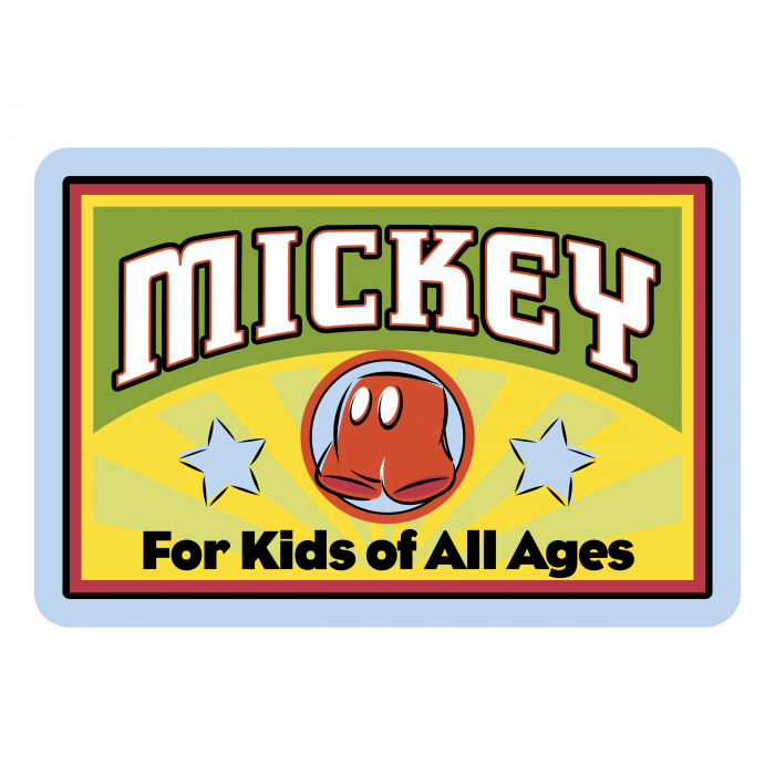 Mickey Mouse logo kids