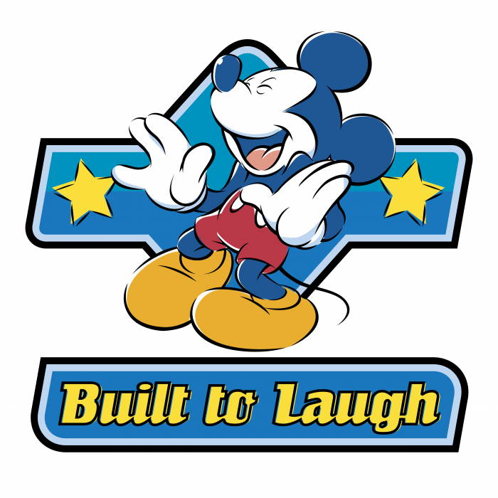 Mickey Mouse logo laugh