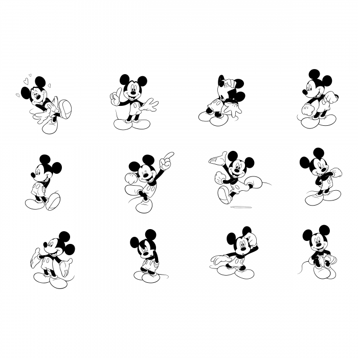 Mickey Mouse logo mouses