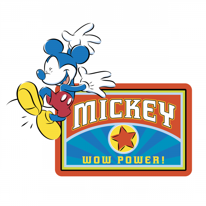 Mickey Mouse logo power