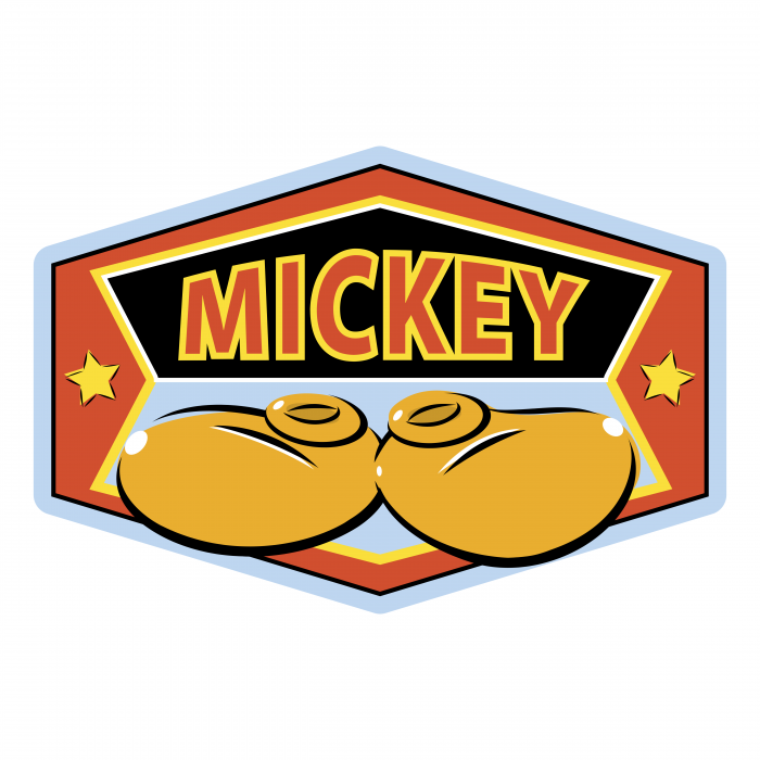Mickey Mouse logo red