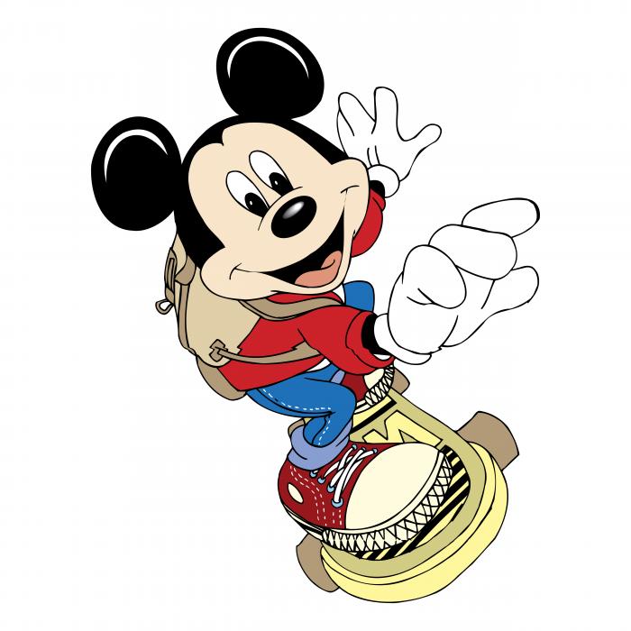 Mickey Mouse logo skate