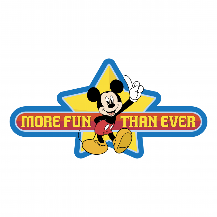 Mickey Mouse logo star