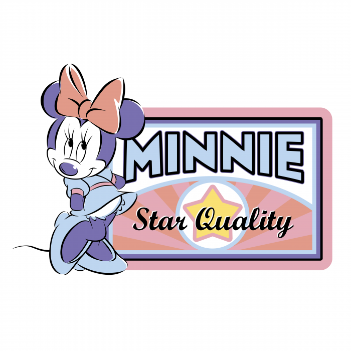 Minnie Mouse logo quality