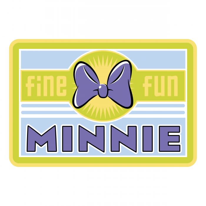 Minnie Mouse logo yellow