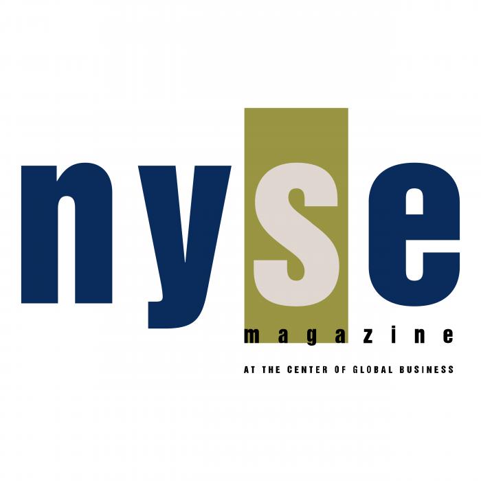 NYSE logo magazine