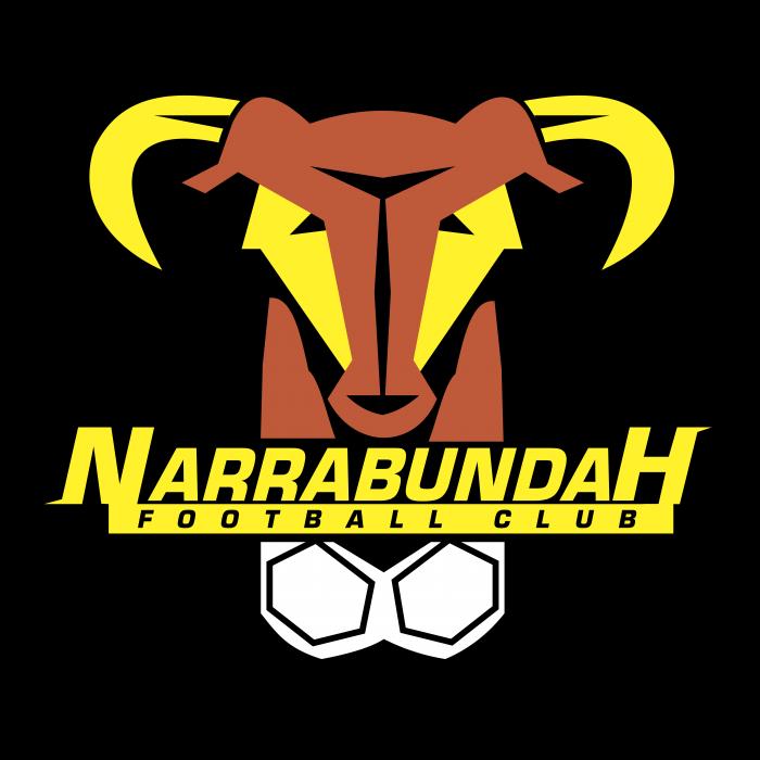 Narrabundah Football Club logo black