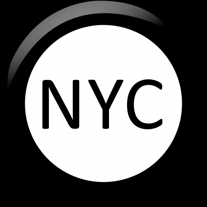 New York logo coin
