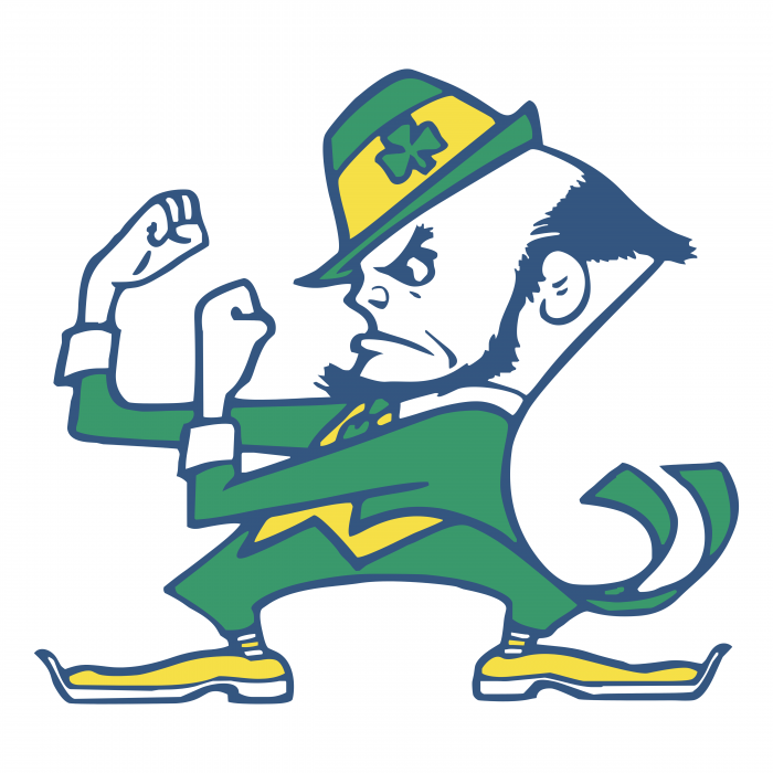 Notre Dame Fighting Irish logo yellow