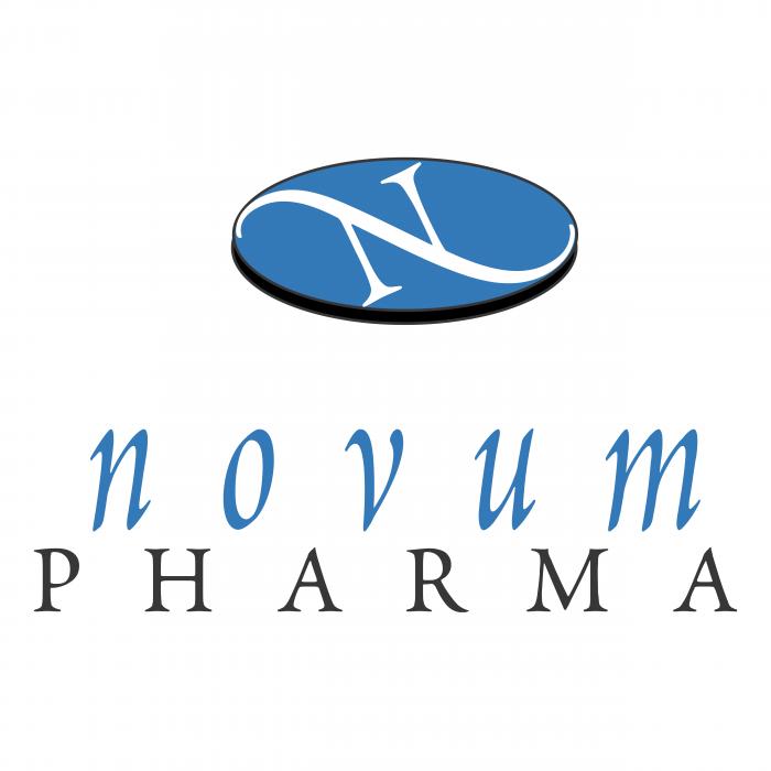 Novum Pharma logo blue