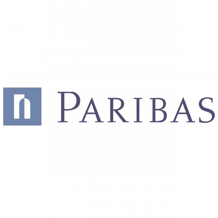 Paribas logo blue