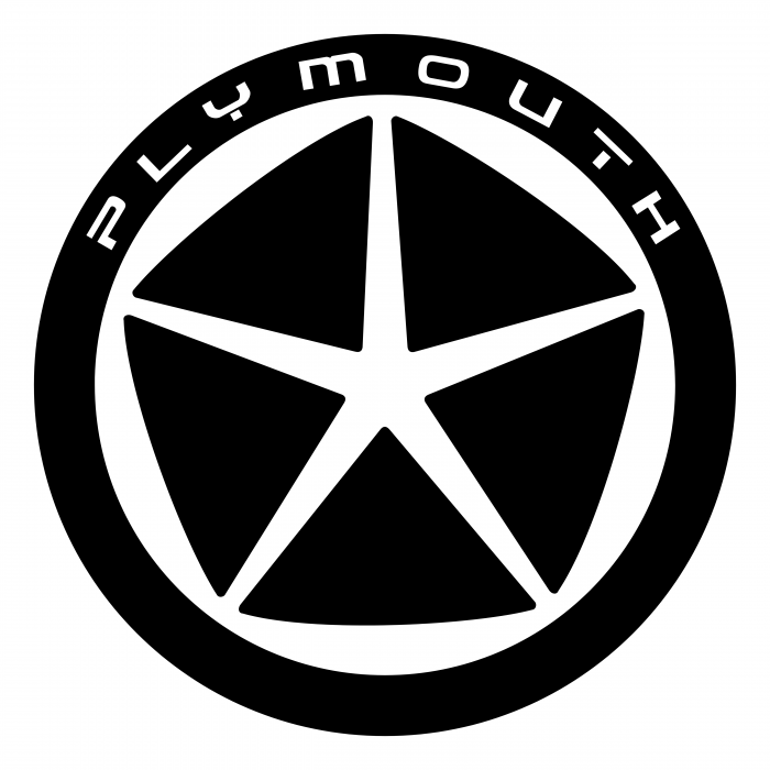 Plymouth logo black