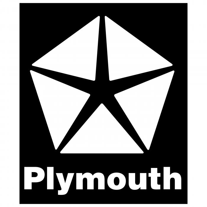 Plymouth logo cube